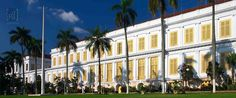 Palace of Governor General H.W. Daendels (1808-1810) in Jakarta.  1809 construction started 1826 completion of building