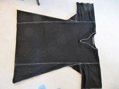 Norse Style Tunic. This pic gives u a visual on how to sew together squares, rectangles, and triangles for your tunic. Make it a little longer if u want. Lower were to insert the side triangles if you want.