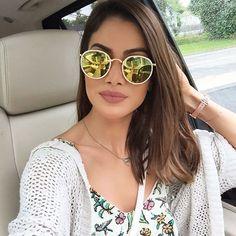 """76.9 mil curtidas, 931 comentários - Camila Coelho (@camilacoelho) no Instagram: """"Sundays!!! (Fim de Domigo, a caminho de NY) : Fast Play By MAC : Ray Ban"""""""
