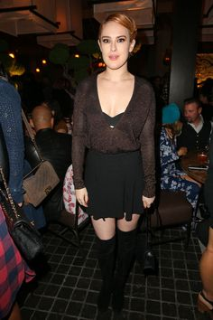 Rumer Willis attends the Roku grand opening