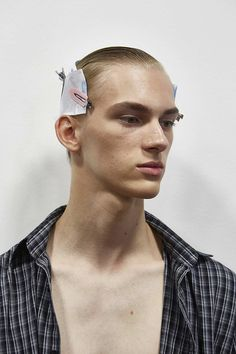 featuring DOMINK SADOCH   /   MILAN FASHION WEEK Men's Collection, Milan Fashion, Backstage, Couture, Model, Ss, Scale Model, Haute Couture