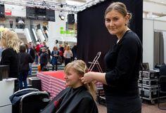 Hairlekiinin pisteessä riitti vipinää Hansan Hyvinvoinnin päivässä 25.4.2015.