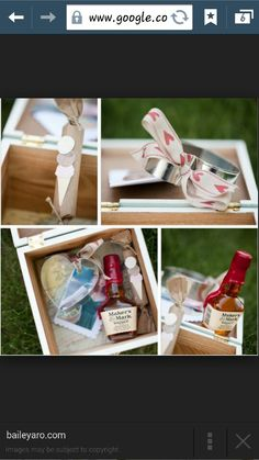 Wedding Party Invitation Boxes