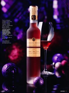 Ice wine. Vintages. LCBO