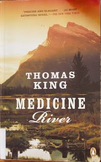 Books and Quilts: Medicine River by Thomas King