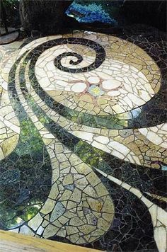 Garden Pathway Pebble Mosaic Ideas For Your Home . Garden Pathway Pebble Mosaic Ideas For Pebble Mosaic, Stone Mosaic, Mosaic Art, Mosaic Glass, Mosaic Tiles, Mosaic Floors, Stained Glass, Mosaic Walkway, Tiling
