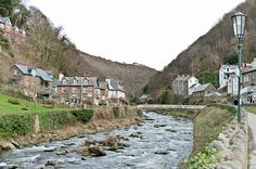 Lynmouth, England. The west countryside.