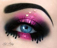 creative eye makeup #TalPeleg