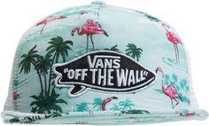 VANS PINK FLAMINGO TRUCKER HAT > Mens > Accessories > Hats | Swell.com