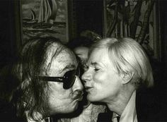 Salvador Dali and Andy W, another pic featured in the Doc film.