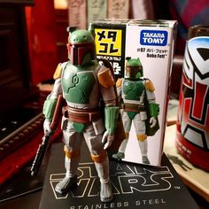 Thanks to my brother @draculazer for this awesome new Fett. #starwars #toypizza #toyphotography #toys #bobafett #diecast #takaratomy by skattumprime
