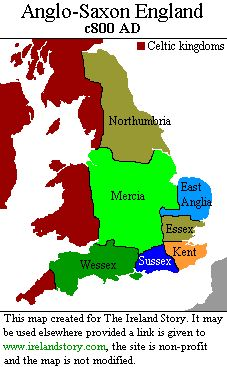 The Angles, Jutes and Saxons were groups of people living in what is now Denmark and northern Germany. Starting in 440AD, warriors sailed across and landed on the eastern seaboard of Celtic Britain, in ever increasing numbers. They met stiff resistance, but after two centuries of continuous battling the Anglo-Saxons (as they became known) had established control over most of southern Britain.