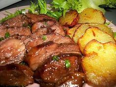 Duck breast with honey and balsamic vinegar recettes Duck Recipes, Asian Recipes, Ethnic Recipes, Healthy Dinner Recipes, Cooking Recipes, Seafood Recipes, Clean Eating, Food And Drink, Menu