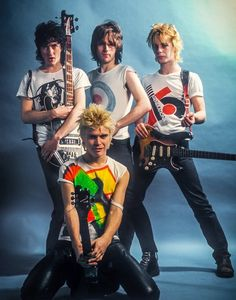 Generation X photographed by Steve Emberton, 1977. Yes that is Billy Idol. :)