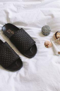 PEDROGARCIA|Aila Sandals | Minimal Nordic Silk Pants, Linen Shorts, Silk Satin, Bag Making, Dust Bag, Minimal, Sporty, Sandals, How To Wear