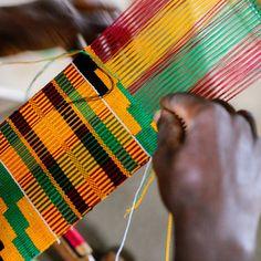Kente from Kumasi, Ghana