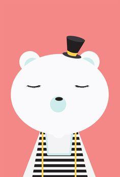 polar bear - tracy wagner illustration