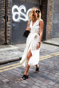 Parisienne: The Wrap Dress