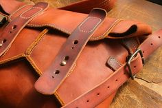 leather bag with one strap, waterproof