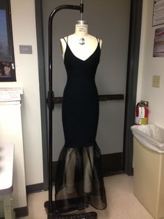 My dress done for the fashion show!