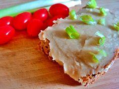 Sülthagymás babpástétom - VegaLife Vegas, Sandwiches, Healthy Recipes, Ethnic Recipes, Tej, Food, Essen, Healthy Eating Recipes, Meals