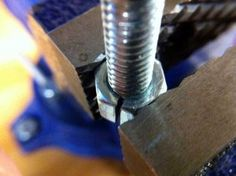 Clamping a Threaded Object