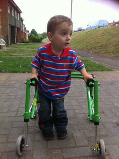 Levi's wish to walk  Levi is a beautiful 6 year old boy born 13 and a half weeks premature in Reading, Berkshire. Levi was diagnosed at the age of 11 months old with cerebral palsy spastic diplegia with a quadruple pattern, which means Levi will never walk unaided. http://www.treeofhope.org.uk/levis-wish-to-walk/