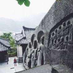 Seokbulsa Temple in Busan, South Korea #asia #travel #wanderlust #backpacking