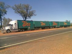International Eagle with a Cat Toll road train Train Truck, Road Train, Cool Trucks, Big Trucks, Semi Trucks, Western Australia, Australia Travel, South Australia, Semi Trailer Truck