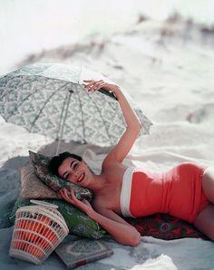 Photo for Vogue, by Karen Radkai; July 1954.