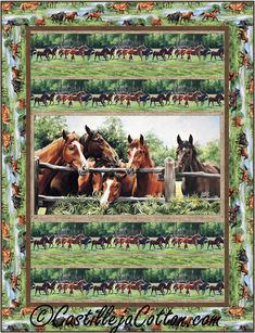 Pieced lap and throw that uses a panel. Room to Run Quilt Pattern CJC-49891 by Castilleja Cotton   - Diane McGregor  Check out our animal & nature quilt patterns. https://www.pinterest.com/quiltwomancom/animal-nature-quilts/  Subscribe to our mailing list for updates on new patterns and sales! https://visitor.constantcontact.com/manage/optin?v=001nInsvTYVCuDEFMt6NnF5AZm5OdNtzij2ua4k-qgFIzX6B22GyGeBWSrTG2Of_W0RDlB-QaVpNqTrhbz9y39jbLrD2dlEPkoHf_P3E6E5nBNVQNAEUs-xVA%3D%3D