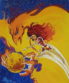 Dark Phoenix...world destroyer -Jean-Louis Sanglan