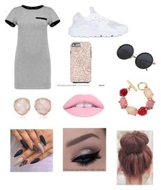 """""""Untitled #186"""" by chase-banner on Polyvore featuring NIKE, MARA, Oscar de la Renta and Monica Vinader"""