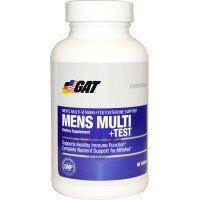 GAT, Mens Multi + Test, 60 Tablets