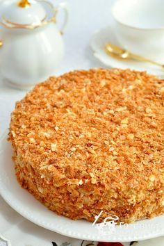 Baking Recipes, Cake Recipes, Napoleon Cake, Muffins, Banana Bread, Eat, Cooking, Desserts, Food