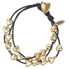 Pilgrim Classics Gold Plated Hearts Bracelet from Pilgrim Jewellery Now Only £21 from Lizzielane.com http://www.lizzielane.com/product/pilgrim-classics-gold-plated-hearts-bracelet/