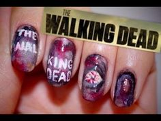▶ THE WALKING DEAD NAILS - YouTube