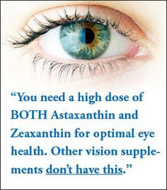 If vitamin makers didn't SKIMP so badly, your eyesight would be a lot sharper and better protected…