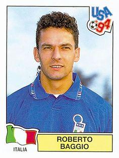 314 ROBERTO BAGGIO - ITA - FIFA World Cup USA 1994