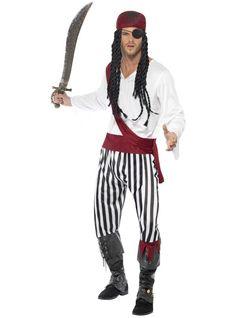 Disfraz de corsario pirata para hombre   Comprar