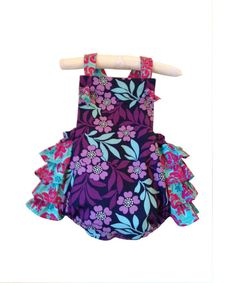 Such an adorable baby girl Romper!