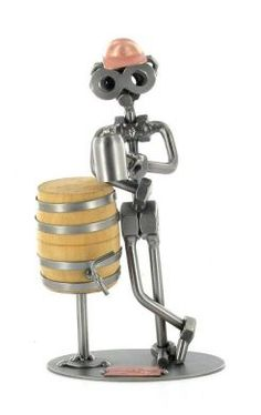 Beer Keg Drinking Nuts and Bolts Figure