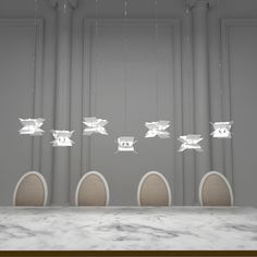 Interior Lighting, Home Lighting, Lighting Ideas, Interior Ideas, Dining Room Lamps, Bedroom Lamps, Crystal Collection, World Of Color, Bedroom Styles