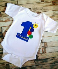 Baby Einstein First Birthday Shirt on Etsy, $25.00