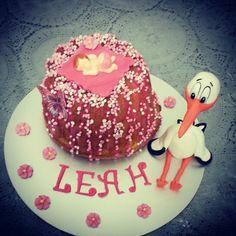 Hoera Leah is geboren #tinkies #taarten #gebak #bakken