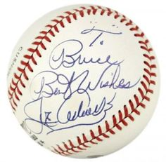 Joe Adcock Autographed Baseball - JSA #SportsMemorabilia #MilwaukeeBraves #Loop