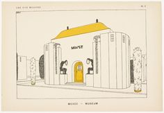 Une Cite Moderne: Drawings by Robert Mallet-Stevens, Architect.