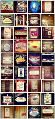 Vintage Sign Design & Typography by quick stop
