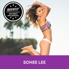 60. Sohee Lee #health #fitness #people #experts http://greatist.com/health/most-influential-health-fitness-people