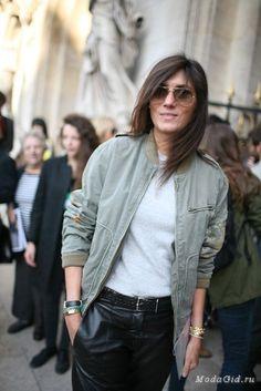 Стиль главного редактора Vogue Paris - Эммануэль Альт.